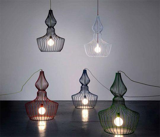 Druciane lampy → Inspiracje → Sztuka Design Architektura → Magazyn Akademia Sztuki