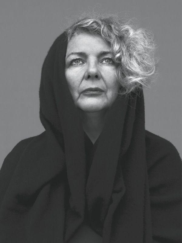 Marlene Dumas: 'Ik kan heel gespannen zijn als ik met iets worstel'. Foto: Stephan Vanfleteren.