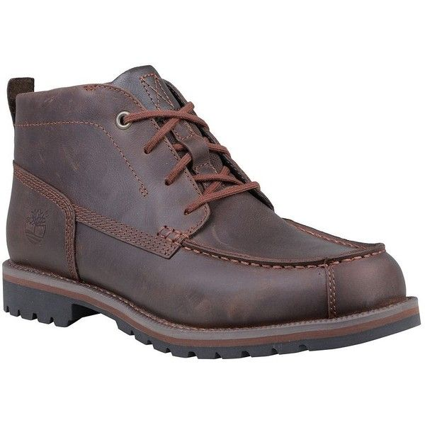 Timberland Men's Grantly Moc Toe Chukka Boots (€78) ❤ liked on Polyvore featuring men's fashion, men's shoes, men's boots, men's work boots, potting soil, mens lace up boots, mens rugged shoes, mens boots, timberland mens boots and mens shoes