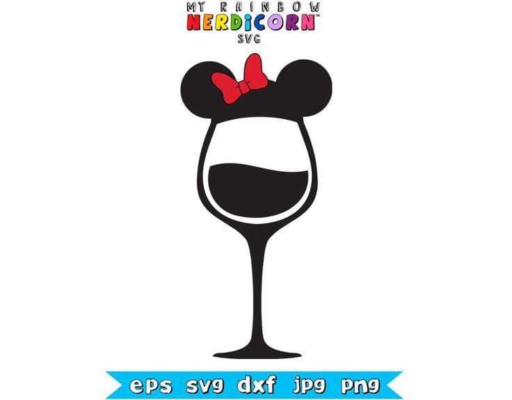 Pin By April Clayton On Disney Ragz Disney Wine Glasses