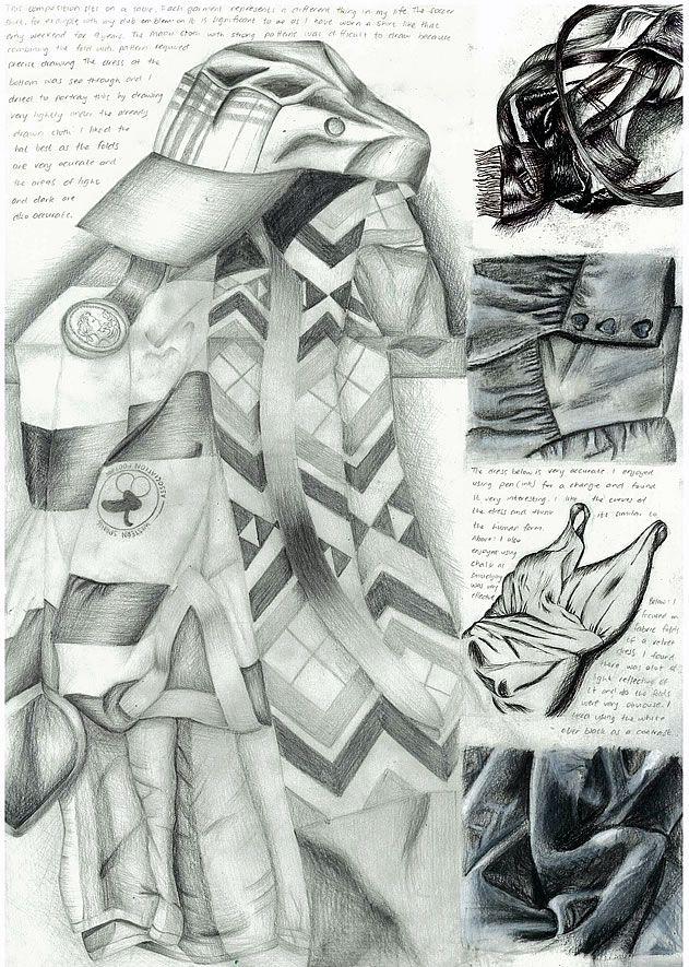 drawing of fish   igcse art coursework example SP ZOZ   ukowo