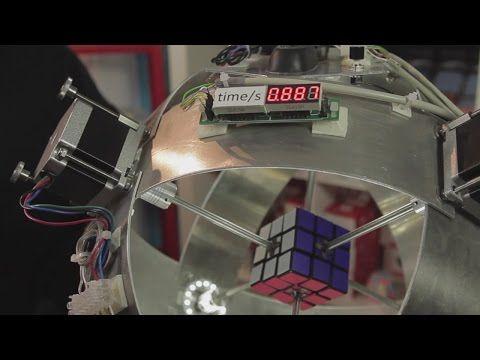 Le rubik's cube et les robots, une longue histoire - VieArtificielle.com