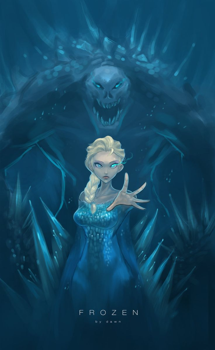 The 'Villain' Elsa by No1Dawn.deviantart.com on @deviantART