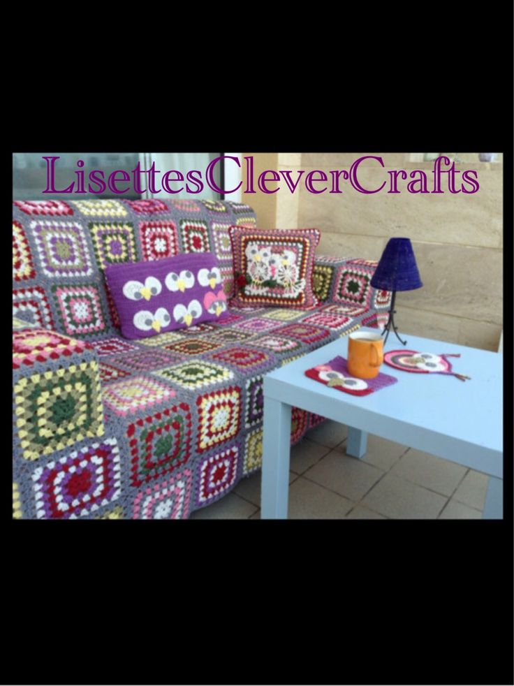 A personal favorite from my Etsy shop https://www.etsy.com/listing/204733207/handmade-crochet-sofa-covers-made-to