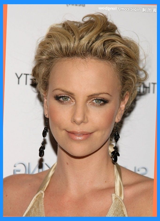 charlize theron short