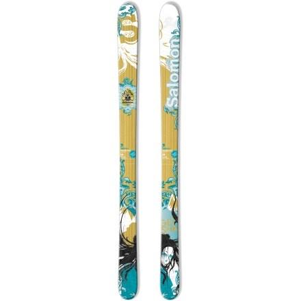 The GEISHA - 164 cm with rockered tip. My downhill ski.