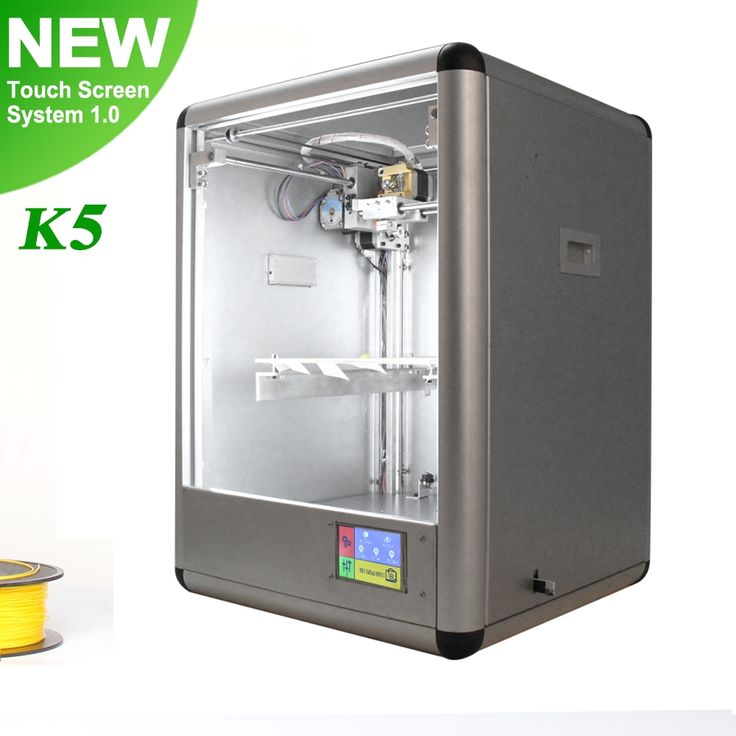 1741.50$  Buy now - http://alifpi.worldwells.pw/go.php?t=32776300345 - k5 professional 3d printer Metal Frame Operating System Windows7/Mac cheap 3d printer with Slicing software