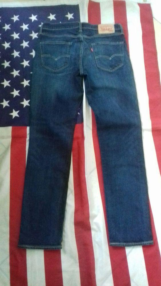 0b95e7b9 LEVIS 511 Slim vintage dark Blue Denim Jeans W 34 L 32 Levi | FOR ...