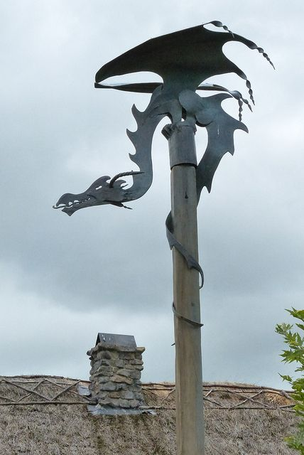 Oh want... would look great on or by fireplace cap.. The Green Dragon by Urban+Explorer, via Flickr