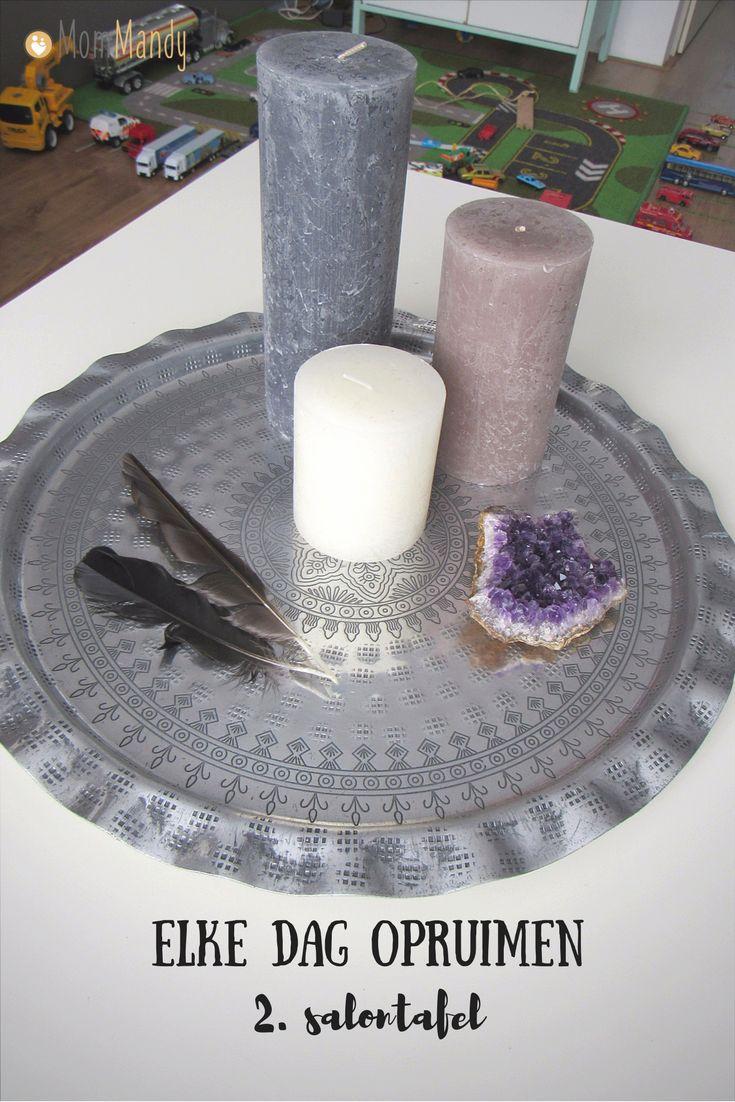 Raak jij ook overweldigt door de rommel in huis? Doe elke dag een beetje en maak korte metten met rommel!