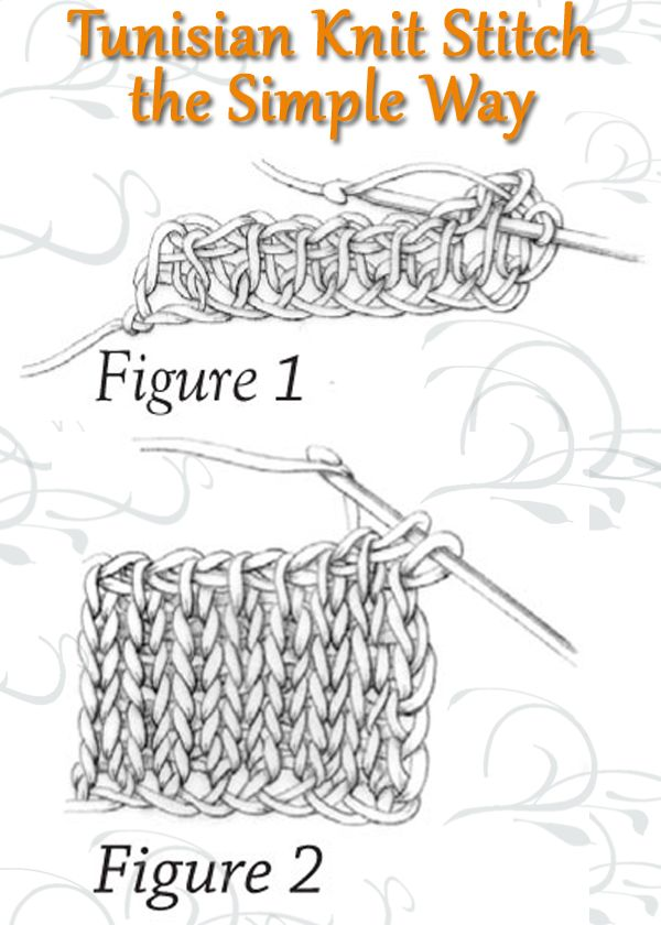 Knit Stitch Picture Instructions : Best 25+ Tunisian crochet stitches ideas only on Pinterest Tunisian crochet...