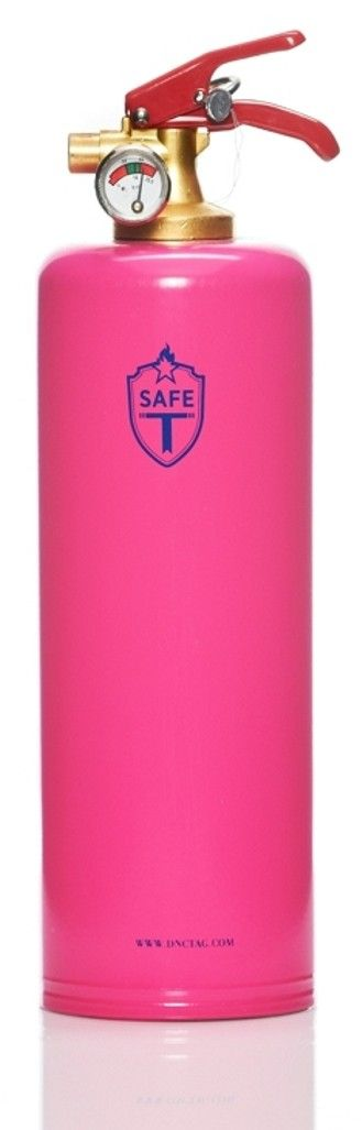 safe t fire extinguisher in pink....I have it right by my pink tool box!