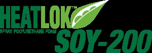 HEATLOK SOY® 200 is a closed cell spray polyurethane foam insulation with a unique ecological benefit that incorporates renewable oils and recycled plastic bottles in the creation of a high performing insulation.