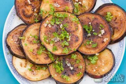 Receita de Berinjela frita em receitas de legumes e verduras, veja essa e outras receitas aqui!