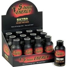 5-Hour Energy. I have reduced the amount of soda I drink daily. However, being the caffeine junkie I gotta have my fix. On a side note, one of these and a Pepsi Max gives you a bit of a turbo boost... but I wouldn't know from personal experience. :-P