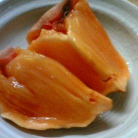 自家製干し柿  Homemade dried persimmon