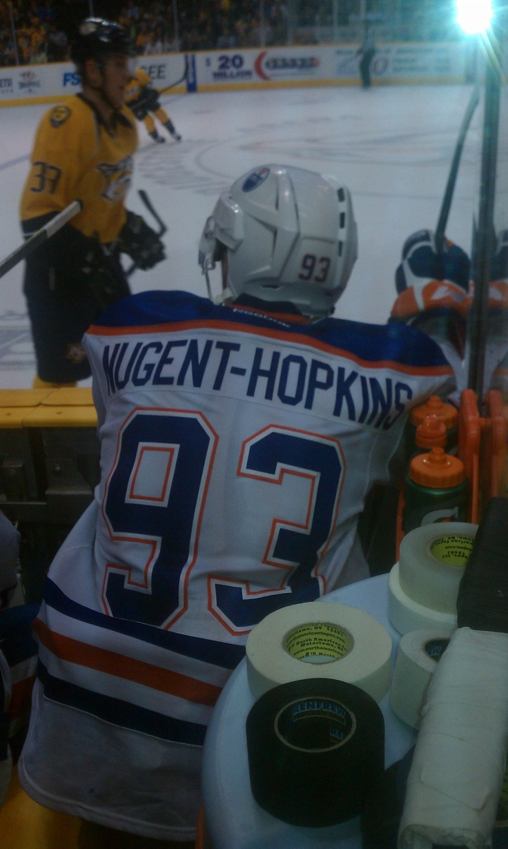 Ryan Nugent-Hopkins #93. my fave rookie :)