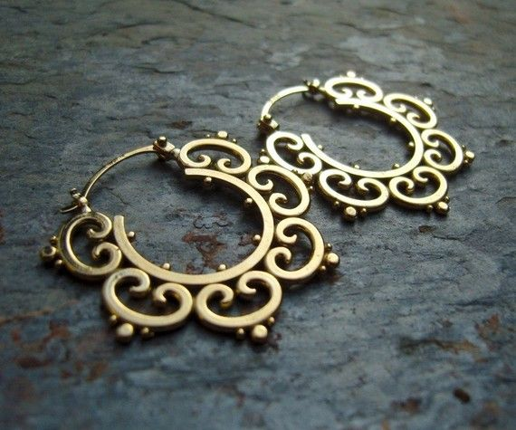 Such Pretty Earrings #Jewelry