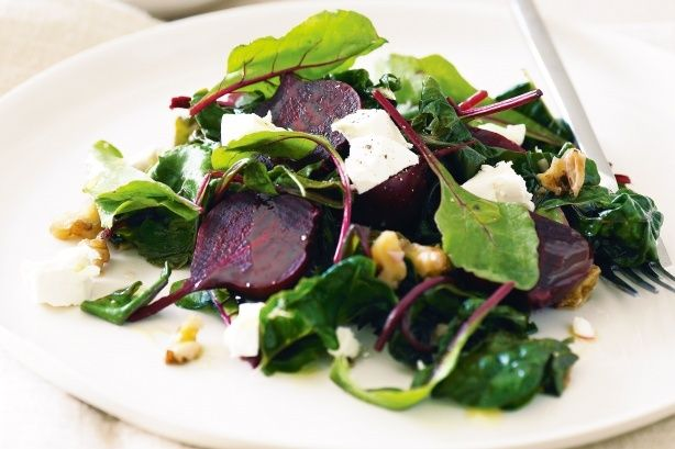 Enjoy this colourful salad with beetroots and feta as a healthy accompaniment to your main meal.