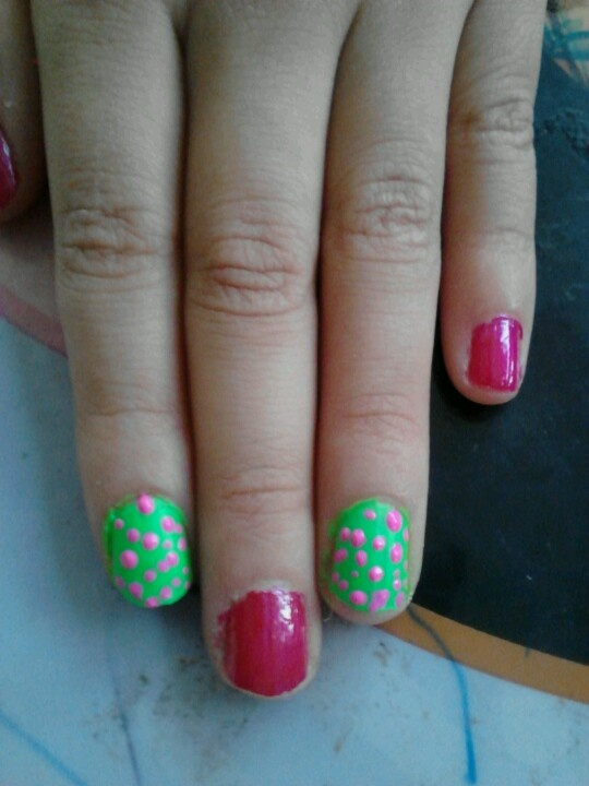 My Little Girls Nail Art Little Girl Nail Design Ideas
