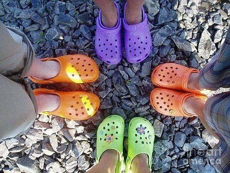 Barbara Griffin - Colorful Crocs