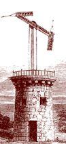 Claude Chappé desarrolló un modelo de telégrafo óptico (1792) que contribuyó al desarrollo del sistema de telecomunicaciones. Su diseño consta de un regulador, en cuyos extremos se colocaban indicadores. Así pues, según la posición del regulador y los indicadores significaban una letra u otra. #telégrafo #telecomunicación #comunicación #escritura #alfabeto