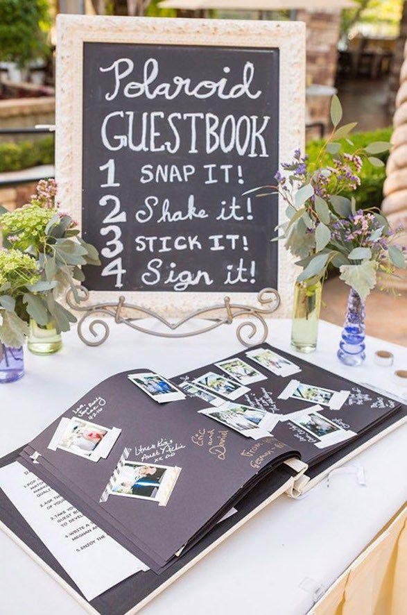 Ideen für Polaroids auf der Hochzeit –