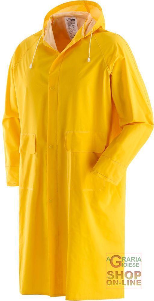 CAPPOTTO PVC BISPALMATO GIALLO  TG  S M L XL XXL XXXL https://www.chiaradecaria.it/it/impermeabili/3482-cappotto-pvc-bispalmato-giallo-tg-s-m-l-xl-xxl-xxxl.html