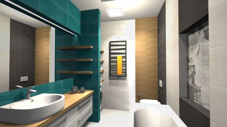 Mała łazienka dla Rodziny 5 m<sup>2</sup> - Deante
