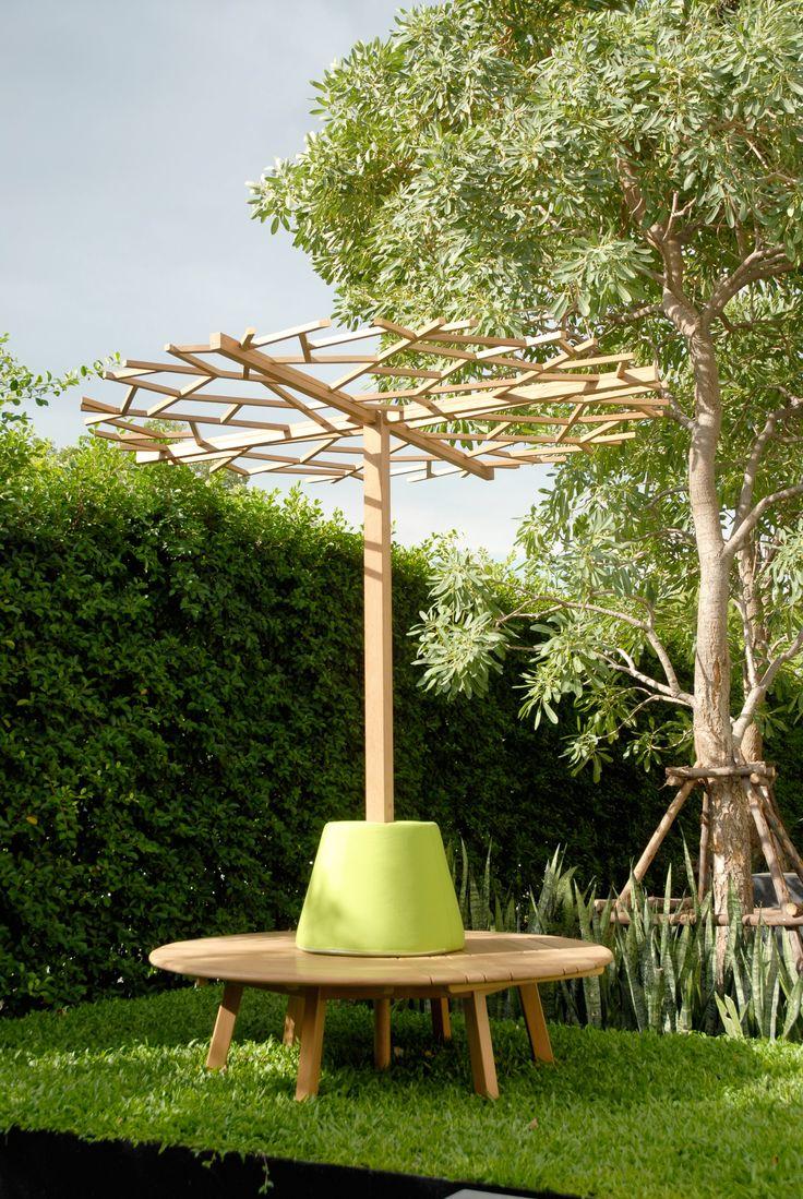 Tiera circle bench and nest tree at www.deesawat.com