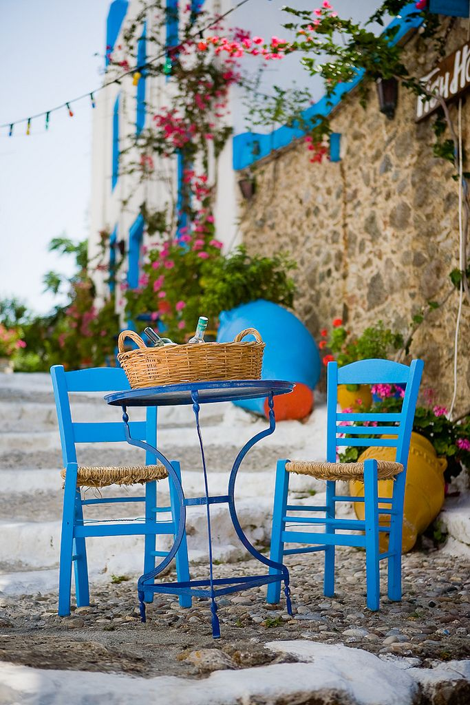 Table for two in Kos
