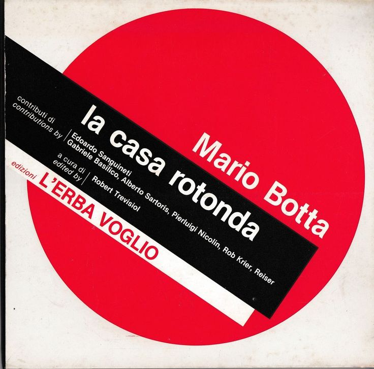 Mario Botta La casa rotonda ed. L Erba Voglio 1982-L4771
