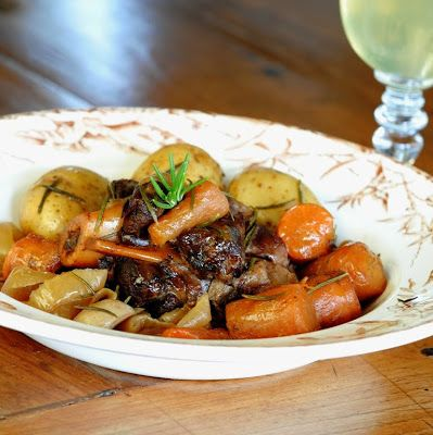 JULES FOOD...: EASY SLOW COOKER LAMB SHANKS
