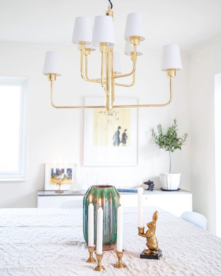 Contemporary pendant lamp with brass base and classical white shades Random Sunday inspo  #interiorlighting #lighting #sessaklighting #sessak #scandinavianinterior #interiorinspo #interiorinspiration #homelighting #luminaire #interiorstyling #interiorstyle #lightingdesign #sisustus #valaisin #kattovalaisin #nordicinspiration