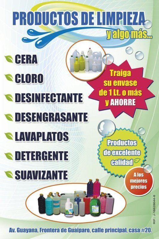 Pend n productos de limpieza para negocio local dise o cs7dgrafico dise os cs7dgrafico - Articulos de casa ...