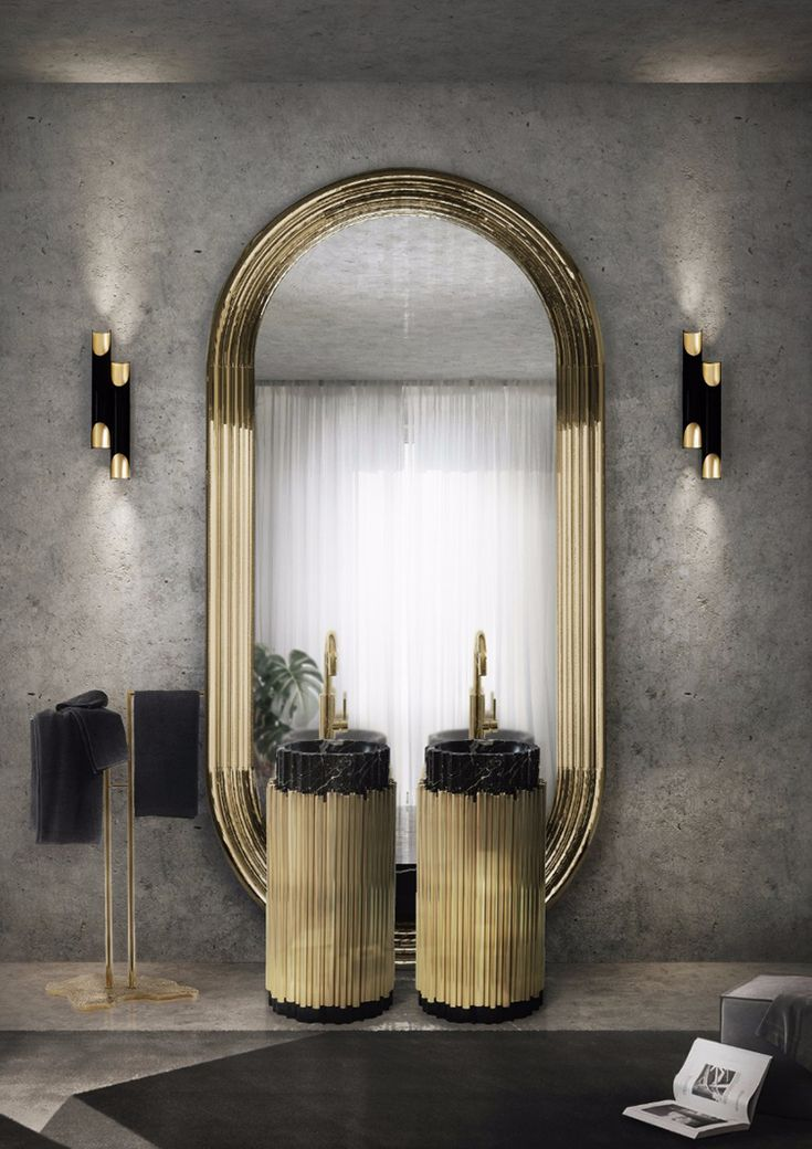 Symphony Freestand ia a handcrafted luxuruous piece with the finest materials, this breathtaking piece is of genuine style, ensuring mystery and elegance. Visit Maison & Objet Paris and have the real expirence with Maison Valentina at Hall 7 / Stand H10, 19 at Sector D'intérieur Gallery. Maison & Objet Paris; Hall 7 / Stand H10, 19 at Sector D'intérieur Gallery