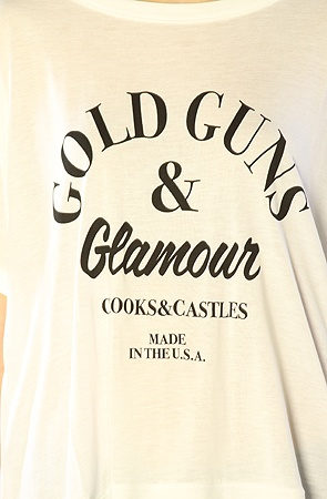 Crooks and Castles The G3 Box Tee in White : MissKL.com - Cutting Edge Women's Fashion, Accessories and Shoes.