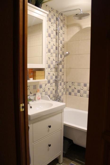 Супер-маленькая ванная комната и супер-маленький туалет