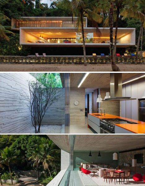 OPEN KITCHEN:  The Paraty House by Marcio Kogan Architects