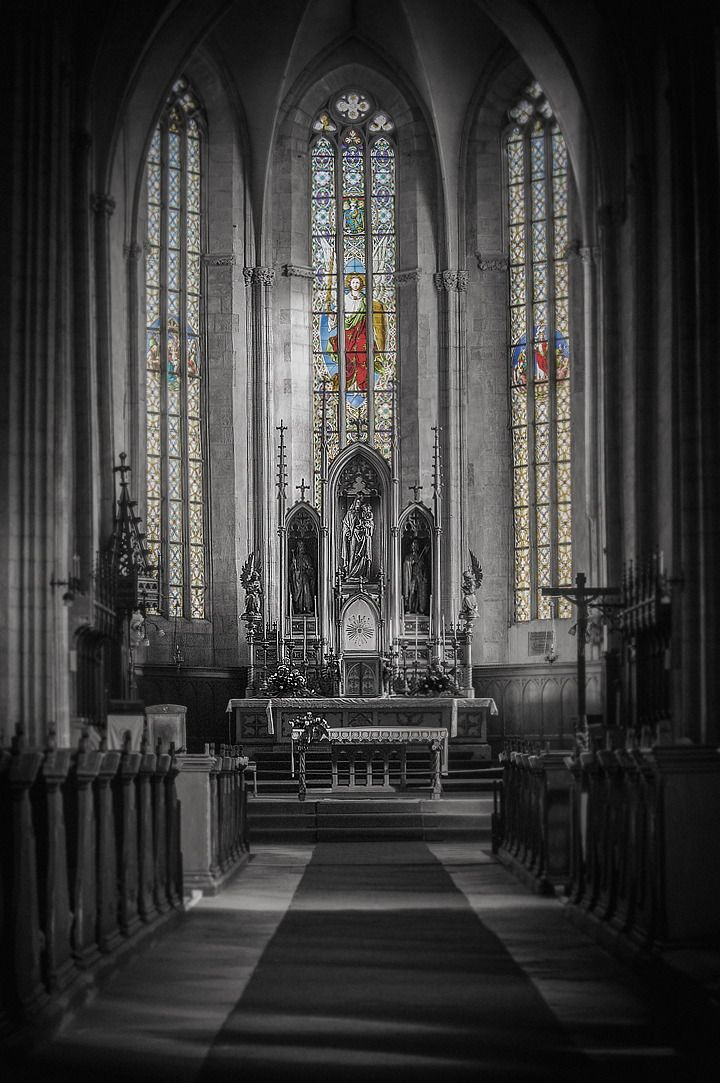 St. Mihail Church in Cluj-Napoca, Romania.