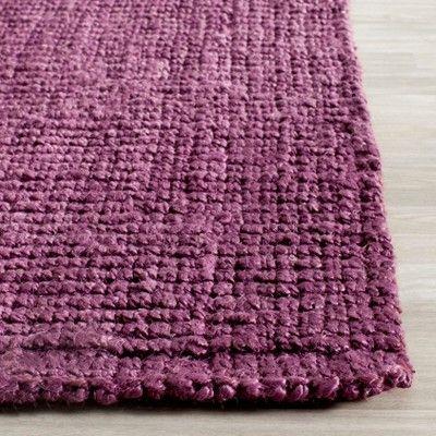 Serena Natural Fiber Accent Rug - Purple (2' 6 X 4') - Safavieh
