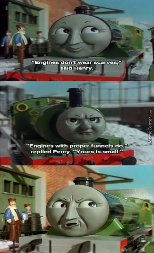 thomas the train funny | Thomas The Train Meme Funny Pictures to Pin on Pinterest ...
