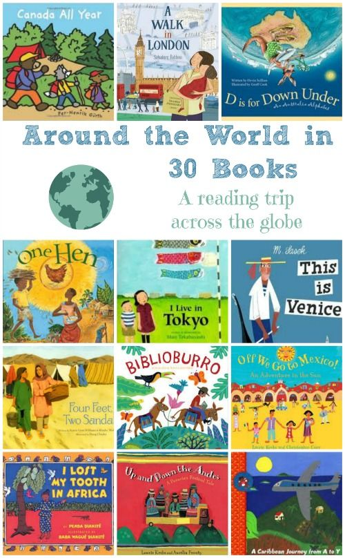 Amazing books about countries and cities around the world! #kidlit #multicultural