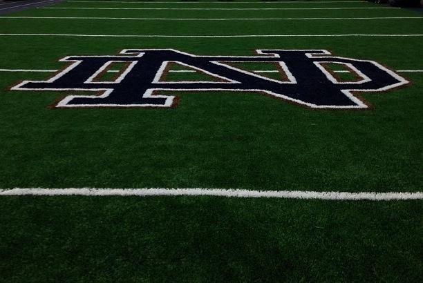 Notre Dame Field Turf Logo