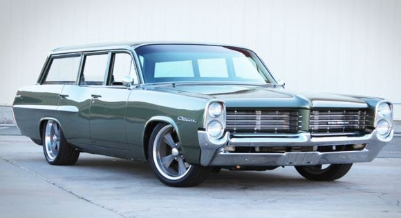 BaT Exclusive: 1964 Pontiac Catalina Safari Hot Rod — links to an excellent video...
