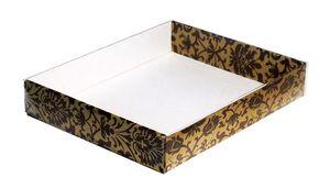 260х210х040  картонная коробка с прозрачной крышкой