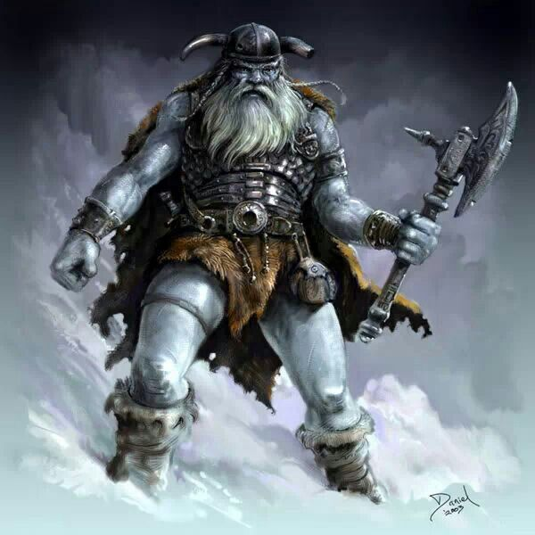 BOR the frost giant Norse