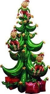 Résultats de recherche d'images pour «CHRISTMAS BALLOON topiary»