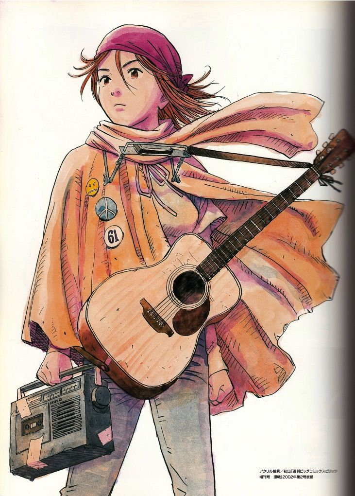 Royalboiler — 3lix13:   …some illustrations from Naoki Urasawa's...