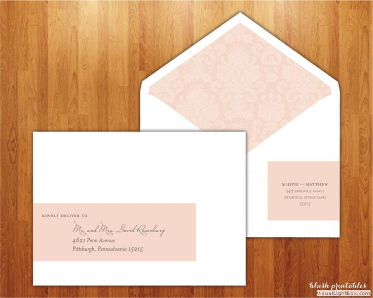 15 best Printable Wedding Address Labels images on Pinterest